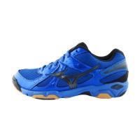 Sepatu Volly / Voli Mizuno V1GA157094 Wave Twister 4 Strong Blue Black