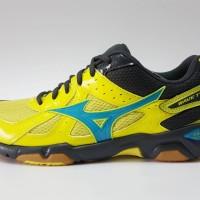 Sepatu Volly / Voli Mizuno V1GA157048 Wave Twister 4 Bolt Atomic Blue