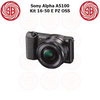 Kamera Sony Alpha 5100 + SEL 16-50 ; Mirrorless ILCE-5100L ; A5100 Kit