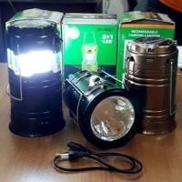 Lentera Tarik plus Senter&Lentera Solar Charger Power Bank- Lampu LED