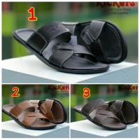SANDAL PRIA CASUAL TRENDY KICKERS CURVE CONCEPT GENUINE LEATHER