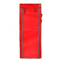 cover + ambalan rak sepatu single 10tingkat 9ruang brand nine box s9 - Biru