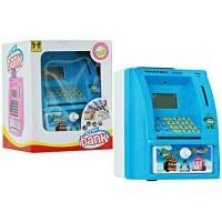 Mainan Edukasi Anak - Celengan ATM Mini Happy Bank Robocar Poli Bahasa