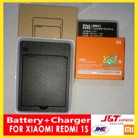 Baterai Xiaomi Redmi 1s & FREE Desktop Charger - Batre Battery BM41