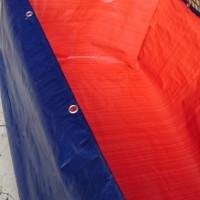 Kolam Terpal Ukuran 2 x 1 x 0.5 Meter |Terpal Kolam Lele 2x1x0.5 Meter