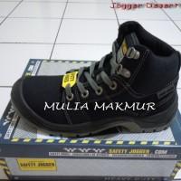 Sepatu Safety Jogger Desert S1P Black