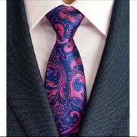 Dasi pria uk.8cm motif batik