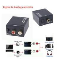 Converter Audio Digital Optic COAX To Analog RCA