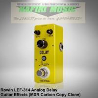 Efek Gitar Rowin LEF-314 / Rowin Analog Delay (MXR Carbon Copy Clone)