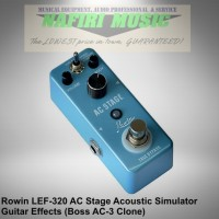 Efek Gitar Rowin LEF-320 / Rowin AC Stage Acoustic Sim Boss AC-3 Clone