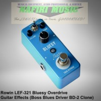 Efek Gitar Rowin LEF-321 / Rowin Bluesy (Boss BD-2 Blues Driver Clone)