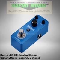 Efek Gitar Rowin LEF-304 / Rowin Analog Chorus (Boss CE-2 Clone)