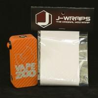 Clear Carbon Fiber J-Wraps for HEXOHM V3 & V2.1