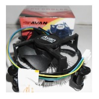 Avan Cooling Fan Combo CPU Cooler Untuk Socket LGA 775 1156 1155 1150