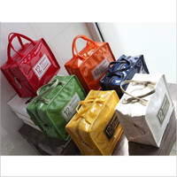 KOREAN INSULATED LUNCH BAG COOLER TAS PENGHANGAT BEKAL HOT COLD ASI