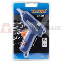 Tora Glue Gun Listrik 20 Watt + Saklar / Tembakan Lem Stick TR GGS-20