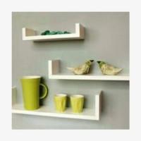 floating rack rak dinding shelf ambalan
