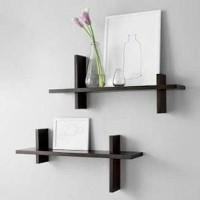 floating rack, rak dinding minimalis, rak melayang, shelf, tundan