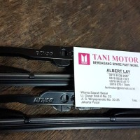 Wiper Blade Depan Set Panjang Pendek Nissan Grand Livina