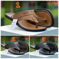 SANDAL PRIA CASUAL TRENDY KICKERS MIDDLE CONCEPT GENUINE LEATHER