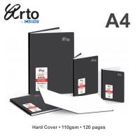Arto A4 Hard Cover Sketch Book 110gsm