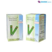 Strip glucose Easy Touch, Refill Strip Tes Alat cek gula darah promo