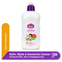 Sleek Baby Bottle Nipple & Accessories Cleanser Botol 500 mL
