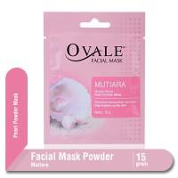 Ovale Facial Mask Powder Mutiara Sachet 15 gr