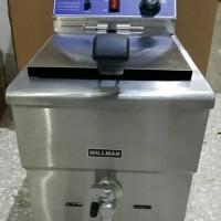 Gas Deep Fryer WILLMAN AGF-181 (18 Liter) Thermostat & Kran Minyak