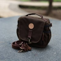 Tas Kamera Sling Bag Camera Mirrorless DSLR - Firefly Ivers Dark Brown
