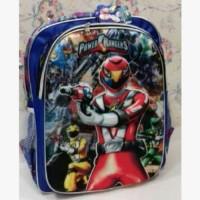 Tas karakter power ranger / tas sekolah anak