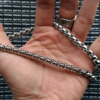 kalung pria / necklace titanium stainless steel 316L import model 1