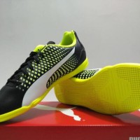 SEPATU FUTSAL INDOOR - PUMA ADRENO III IT ORIGINAL 10404707 BLACK
