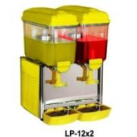 GEA LP-12x2 Juice Dispenser / Jus Dispenser 2 (Dua) Tabung dengan Pend