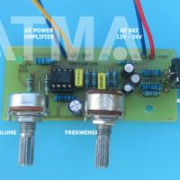 Kit LPF Subwoofer Filter untuk Mobil 12-24 volt 12v - 24v