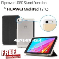 Flipcover HUAWEI Mediapad T2 7.0 : Flipcover LOGO (+FREE SP)