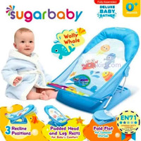 Sugar Baby Deluxe Baby Bather - Wolly Whale / baby bath murah