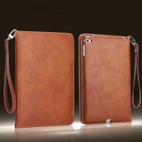 iPad Air 1 Flip Cover Leather Wallet Case Cover Retro Kulit Kesing .