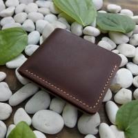 dompet kulit pria bifold wallet dompet full kulit