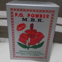 MBK Powder Kemasan Silver - Bedak Anti Bau Badan & Keringat (Sachet)