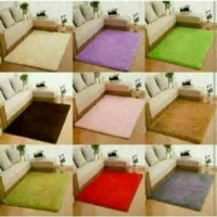 Karpet bulu rasfur(TERMURAH)ukuran150x180 tebal 2cm