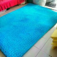 Karpet bulu bunga 100x150cm