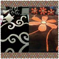 Karpet bulu/rasfur 200x150 tebal 5cm