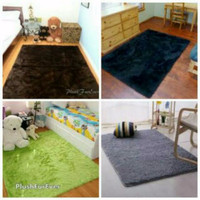 Karpet bulu lembut tebal 6cm