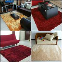 Karpet busa kain bulu rasfur ukuran 150x100 tebal 2cm