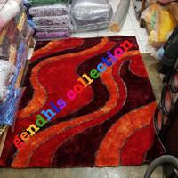 karpet permadani shaggy bulu halus import uk 200x150cm