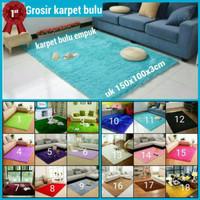 Hot Karpet Bulu Empuk Dan Lembut Uk 150X100X3Cm Kualitas Premium