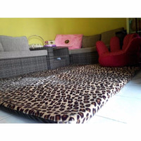 PROMO Karpet / matras bulu rasfur busa 5cm super empuk