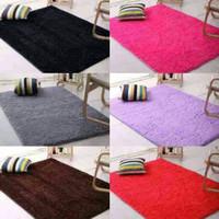 Karpet bulu rasfur ukuran 100x150 tebal keseluruhan 3cm