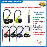 Earphone Bass Headset SPort  Original FONGE